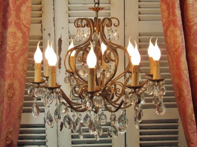 Wrought Iron Chandeliers Uk