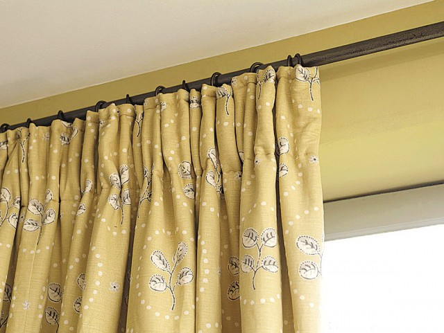 Yellow Blackout Curtains Uk