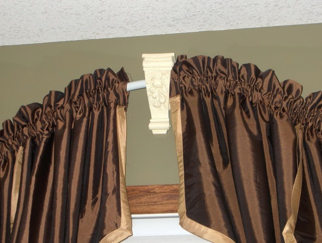 Arch Window Curtains Rods