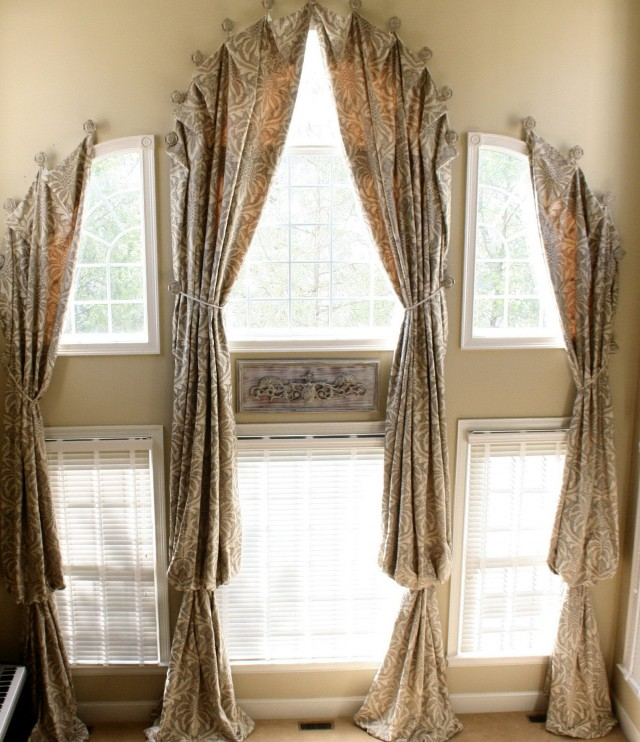 Arched Window Curtains Ideas