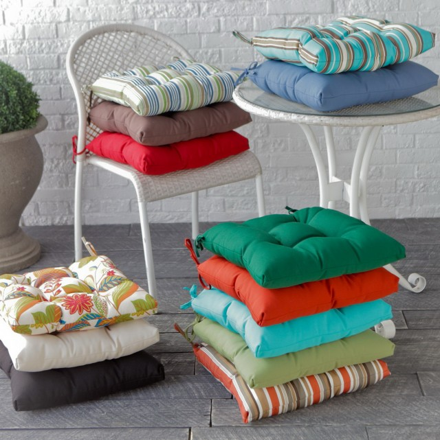 Bistro Chair Cushions Square