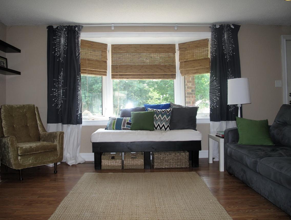 Black White Curtains Modern