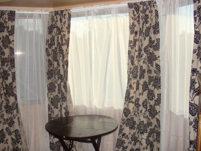 Cheap Curtain Ideas For Large Windows