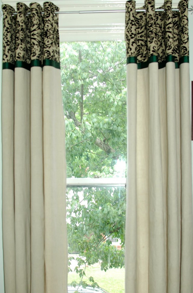 Cheap Outdoor Curtains Diy