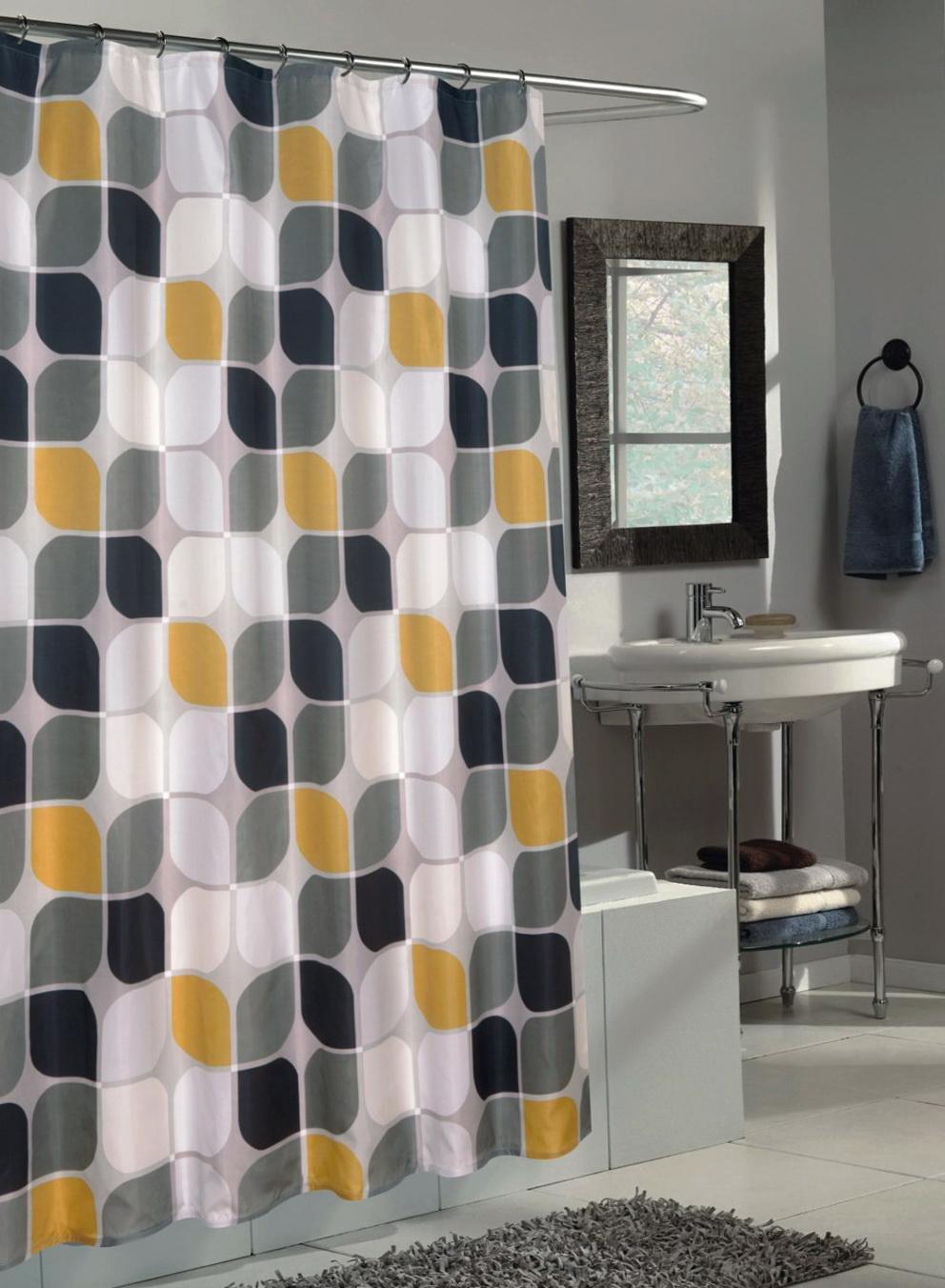 Clean Shower Curtain Rod
