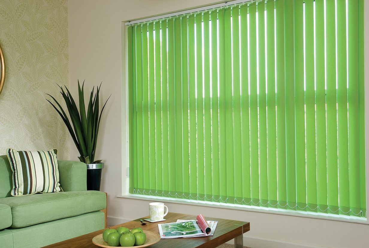Curtains To Go Over Vertical Blinds