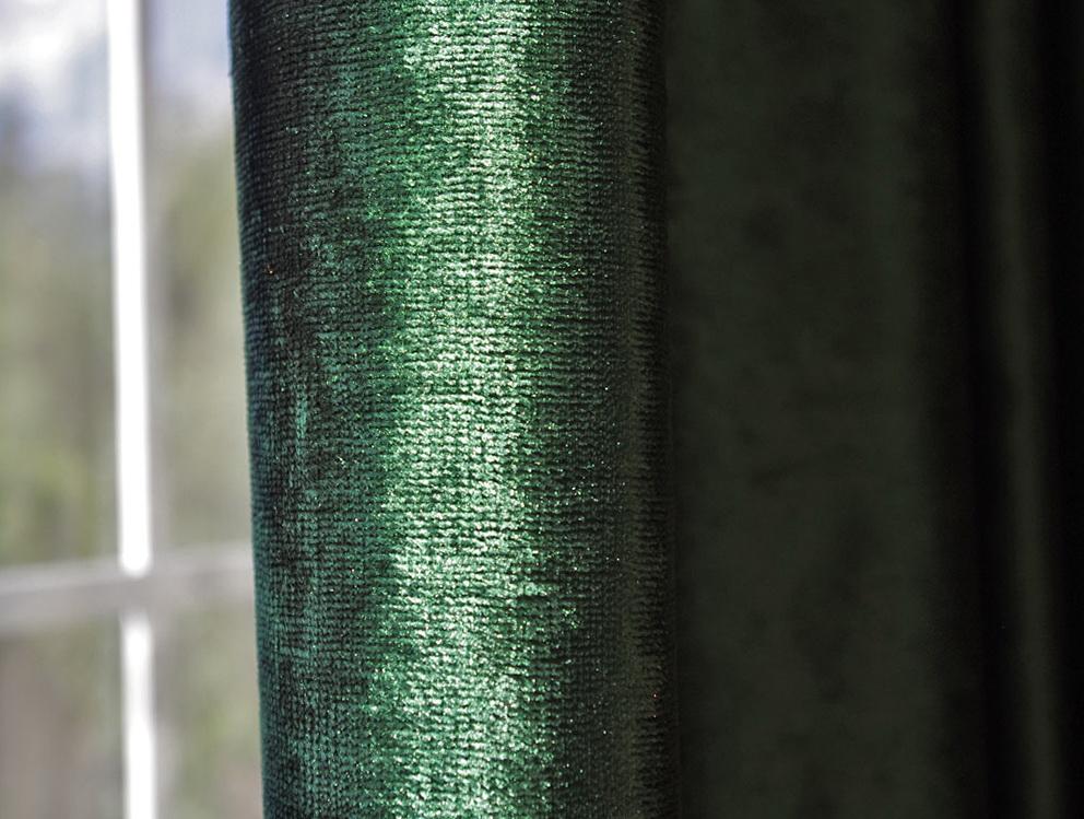 Dark Green Blackout Curtains