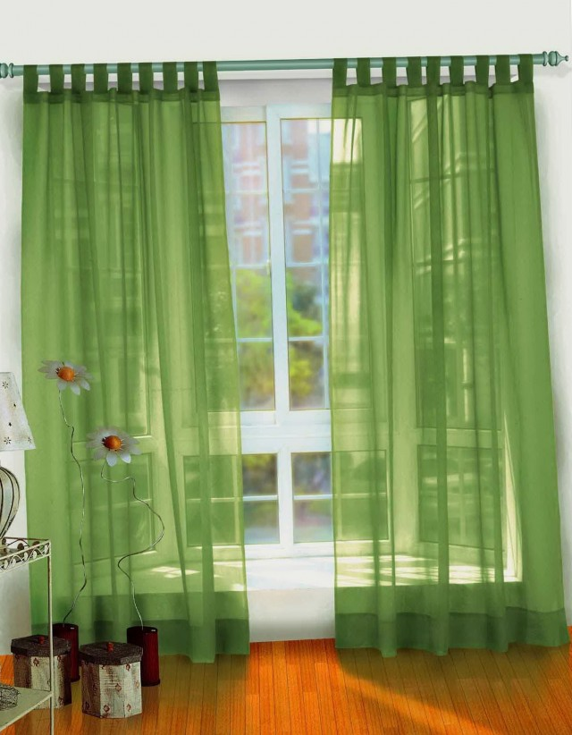 Dark Green Velvet Curtains