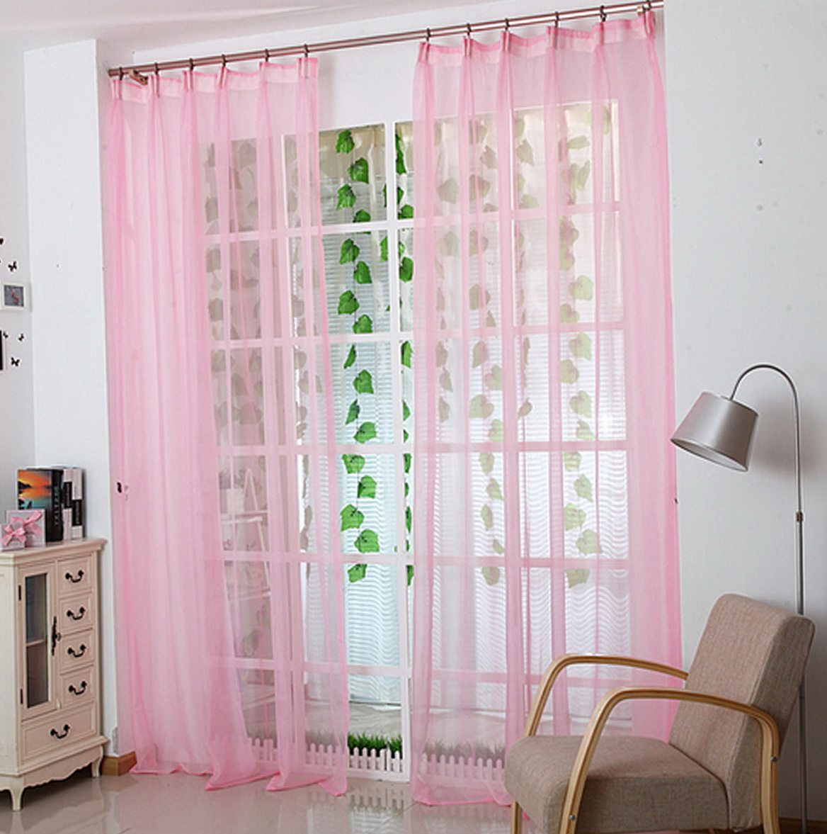 Door Window Panel Curtains