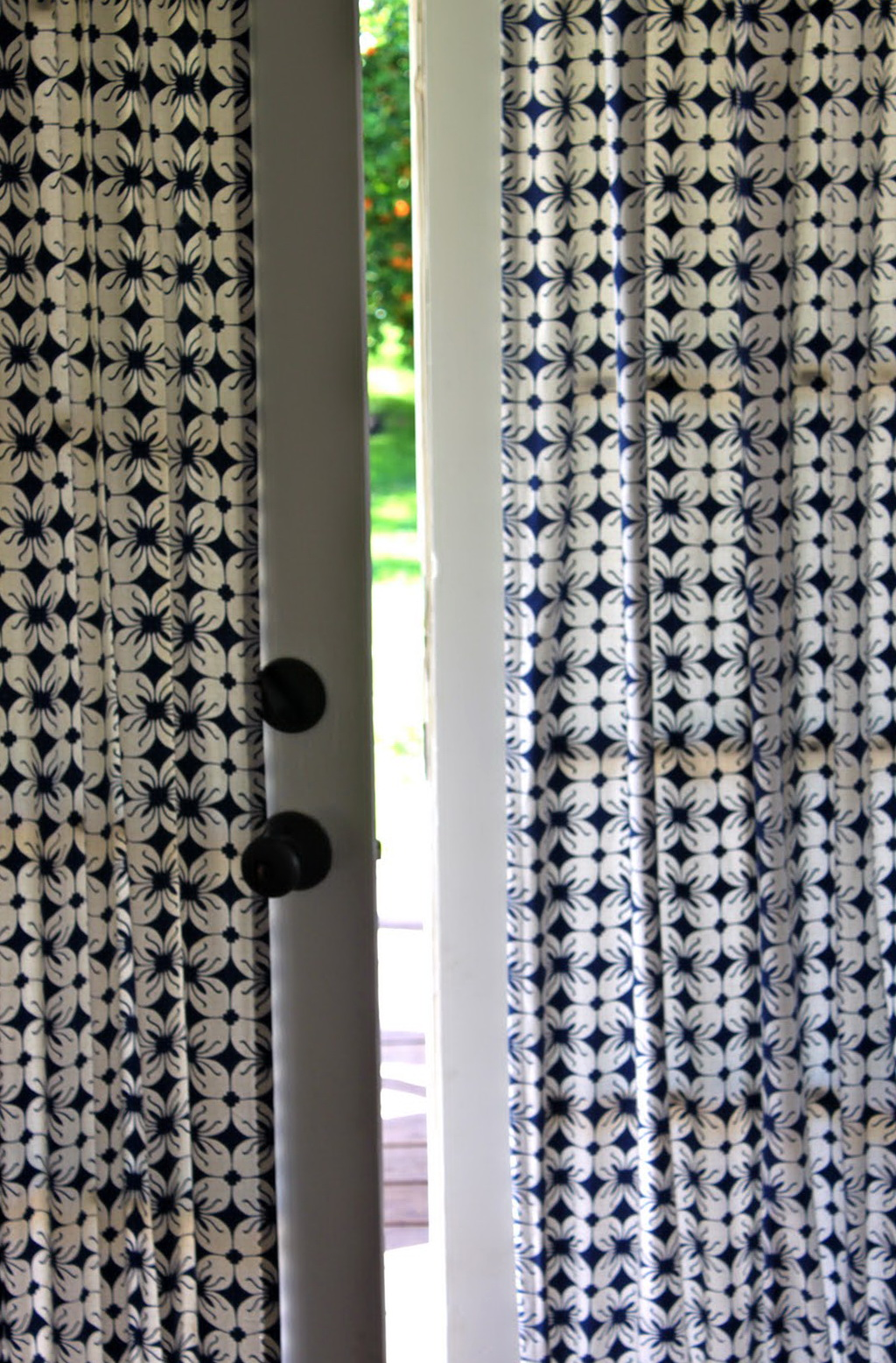 French Door Curtain Hardware
