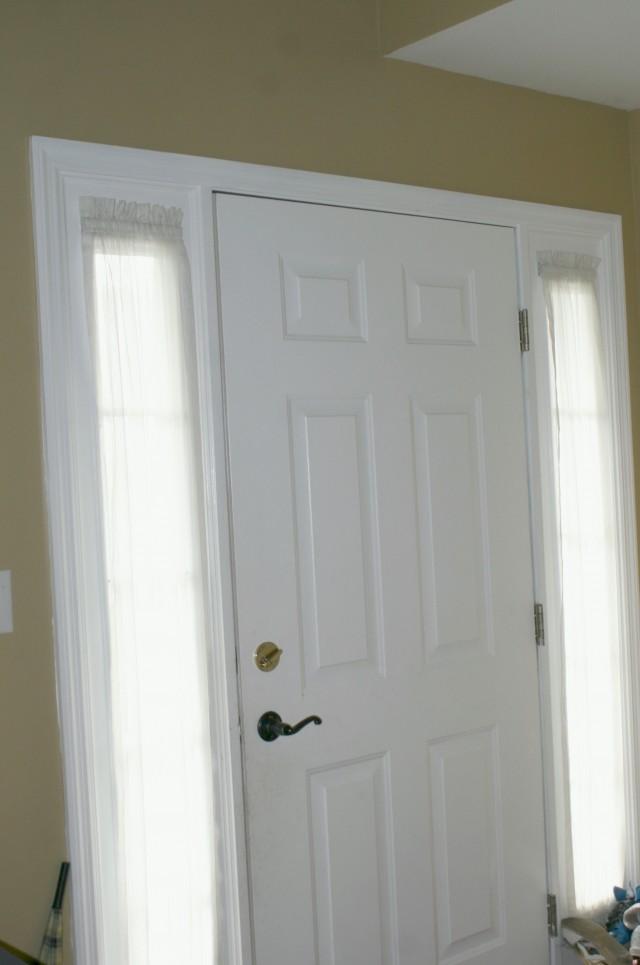 Front Door Side Window Curtains