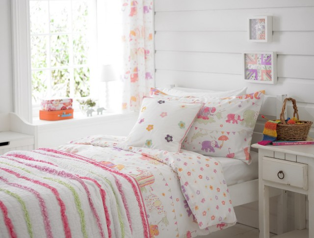 Girls Bedroom Curtains Uk
