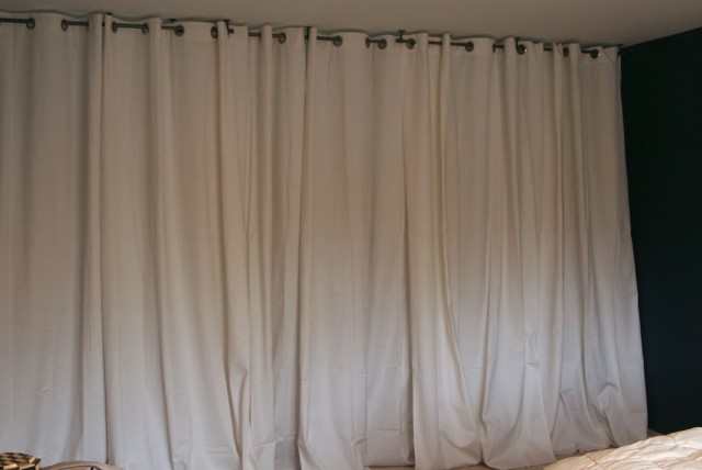 Hang Curtains From Ceiling Ikea