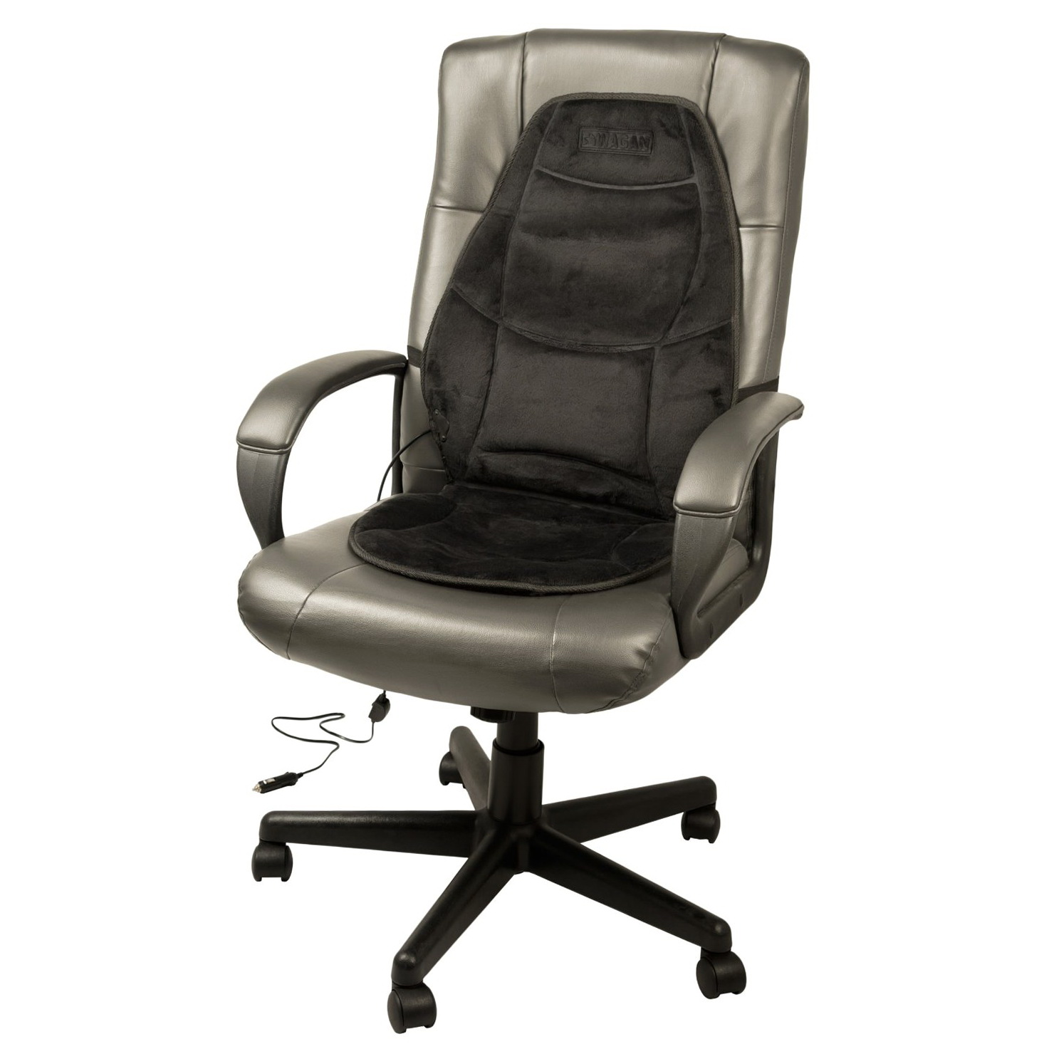 Heated Seat Cushion With Lumbar Support