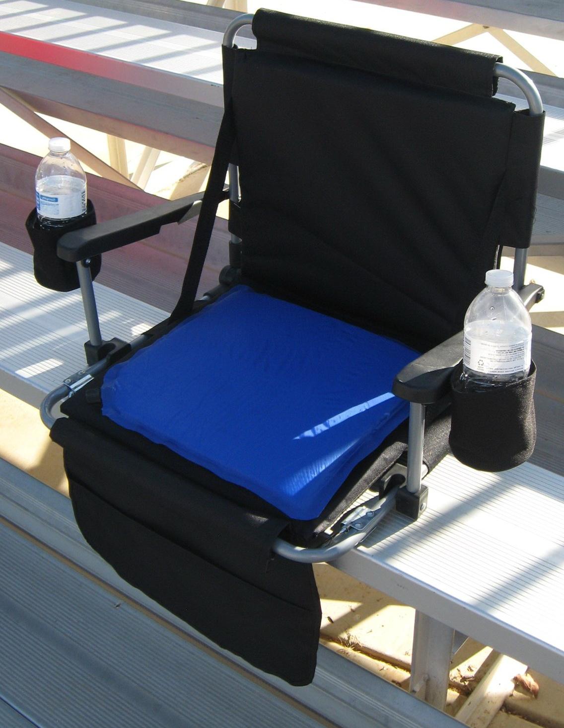 Heated Stadium Seat Cushions