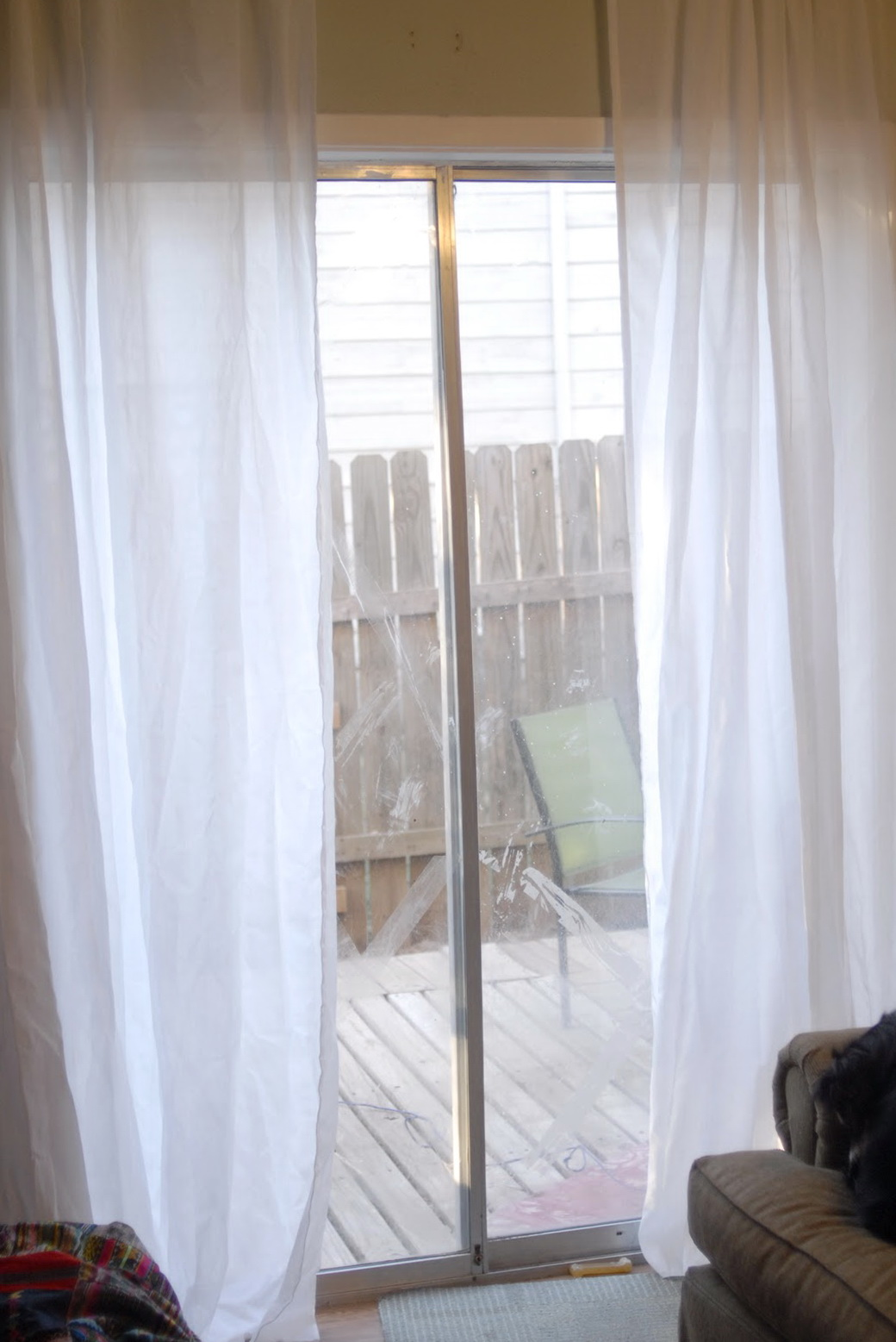 Ikea Nordis Sheer Curtains