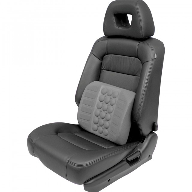 Inflatable Seat Cushion With Lumbar Support