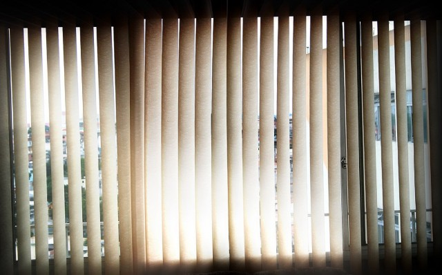 Install Curtains Over Vertical Blinds