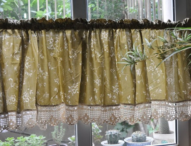 Kitchen Cafe Curtains Valance