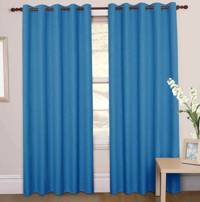 Light Blue Blackout Curtains
