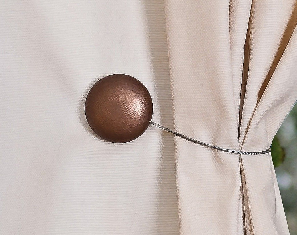 Magnetic Tiebacks For Curtains