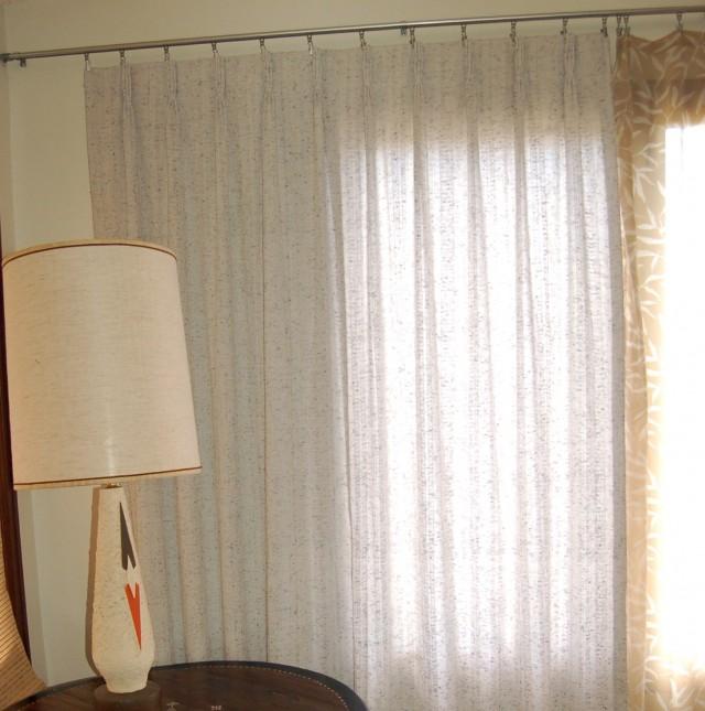 Mid Century Modern Curtain Panels