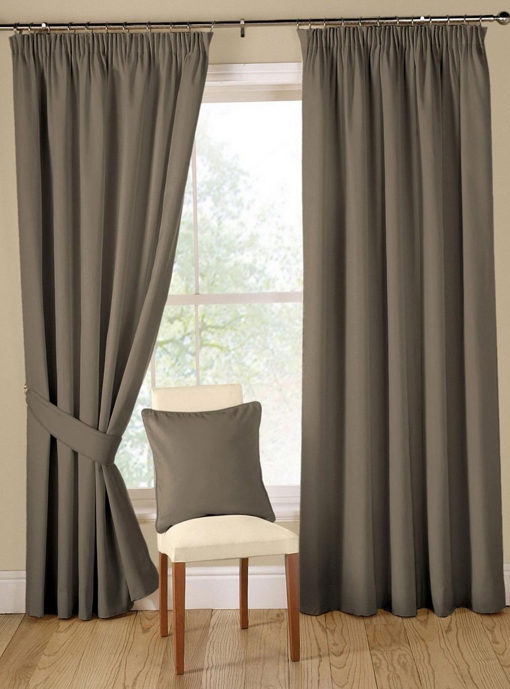 Modern Fabric Curtain Panels