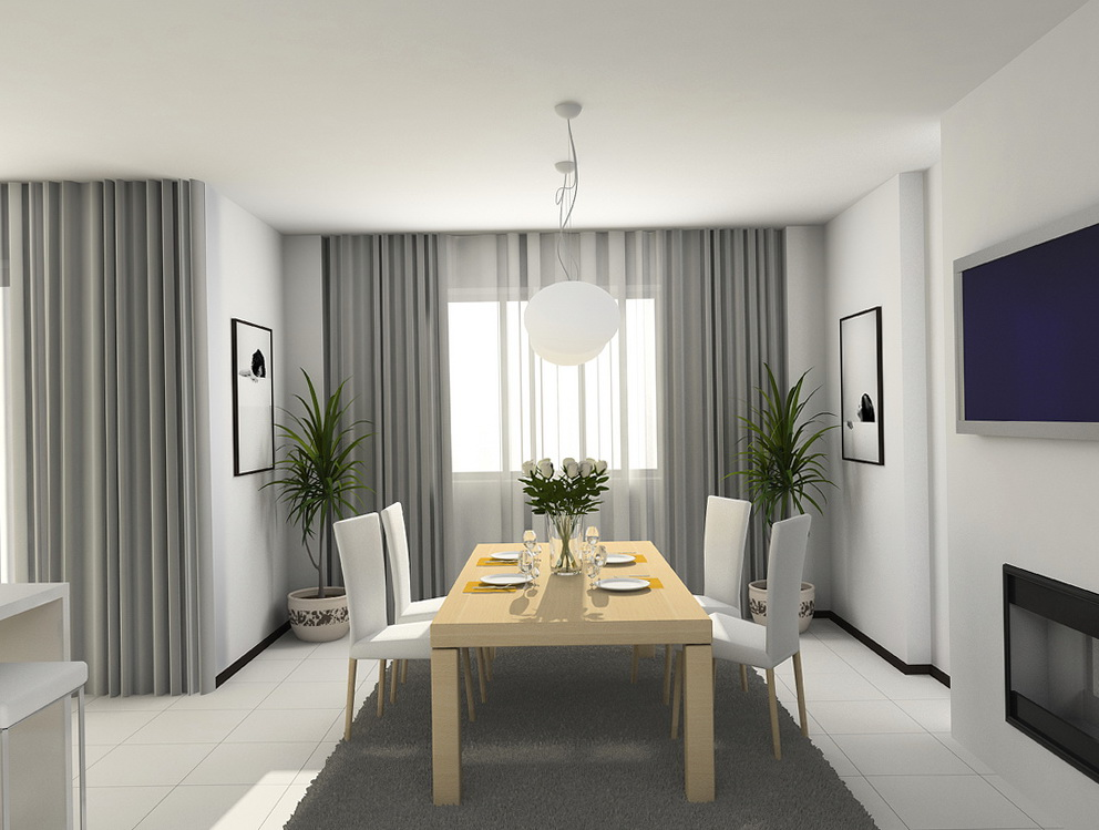 Modern Living Room Curtains 2015