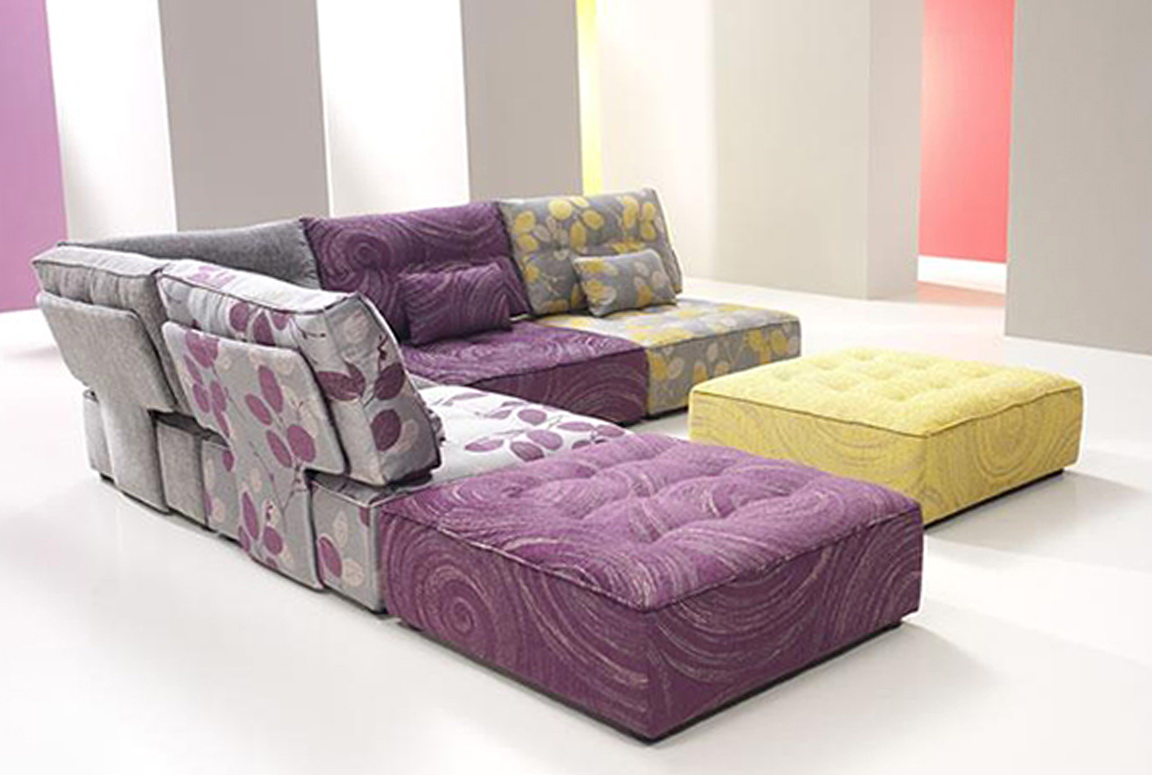 Modular Floor Cushion Seating