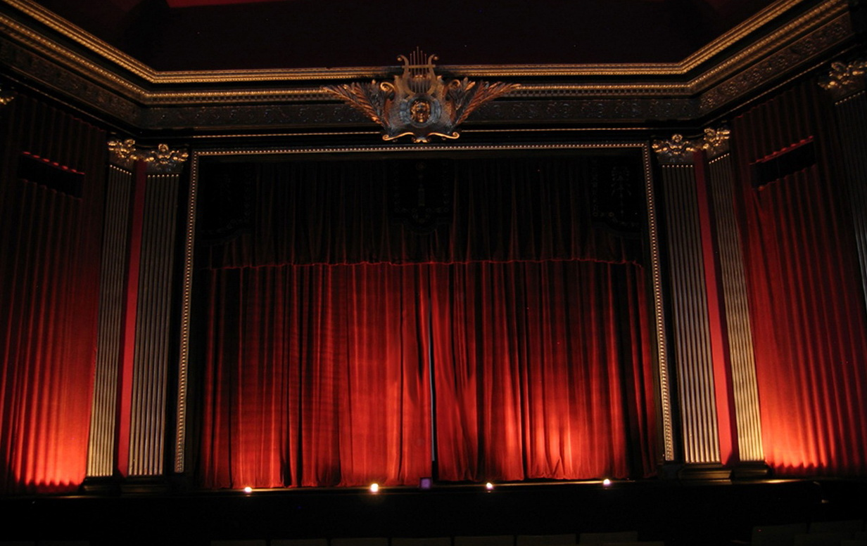 Movie Theater Curtains Wallpaper