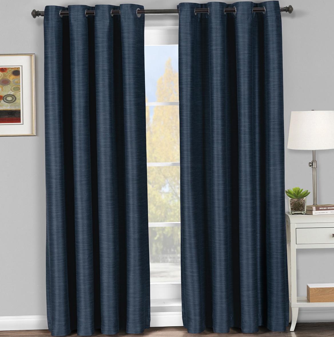 Navy Blue Blackout Curtains 96