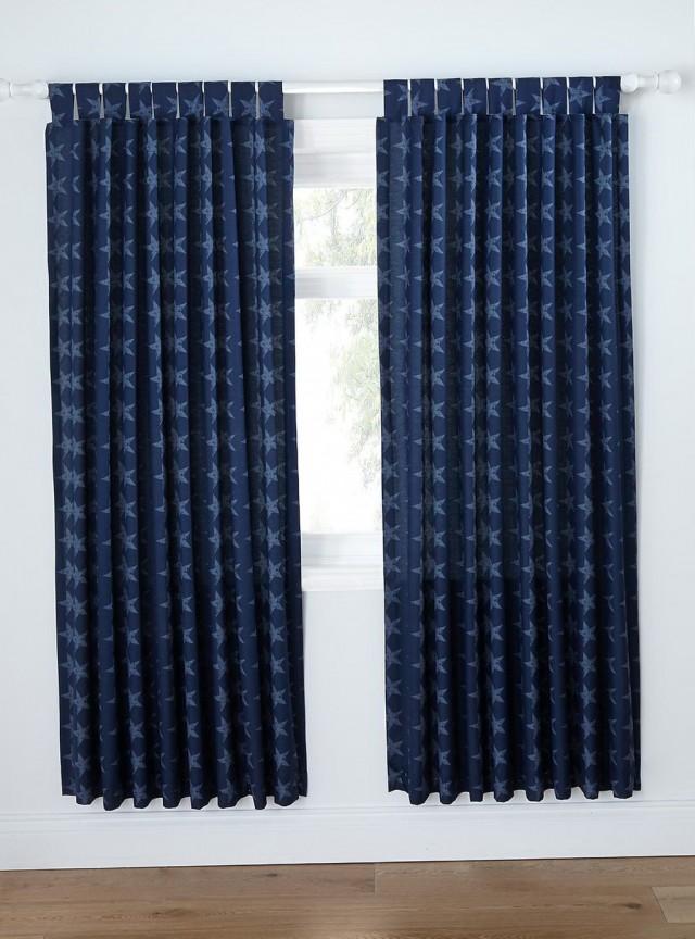 Navy Blue Blackout Curtains Uk