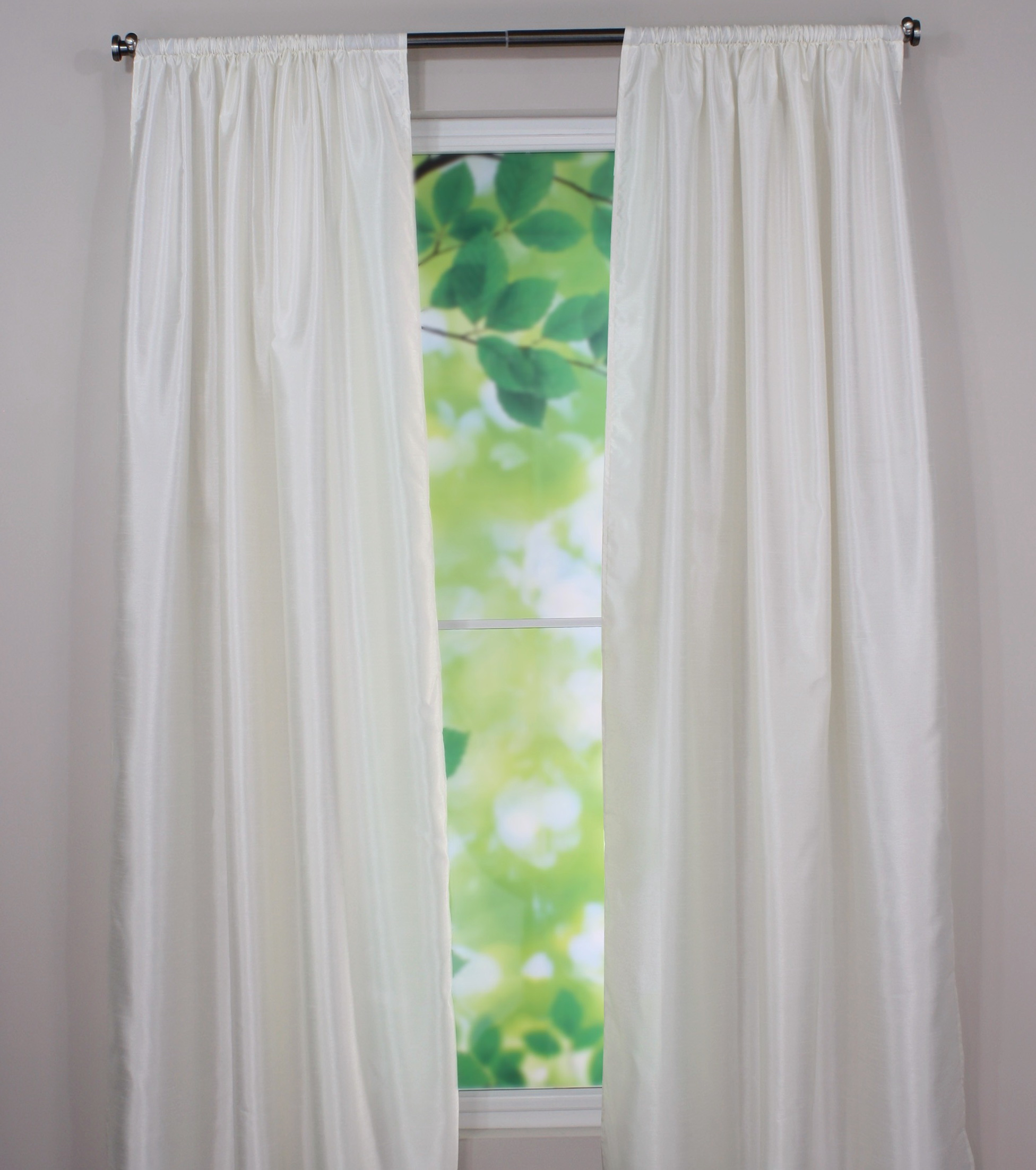 Off White Color Curtains