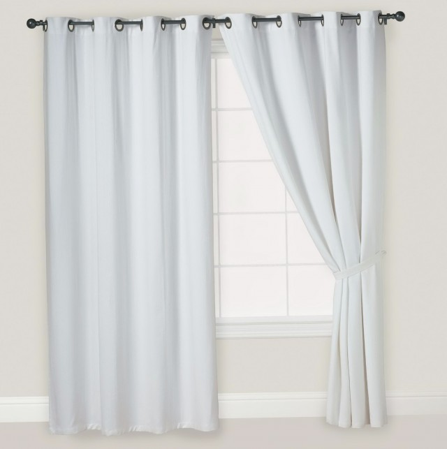 Off White Velvet Curtains