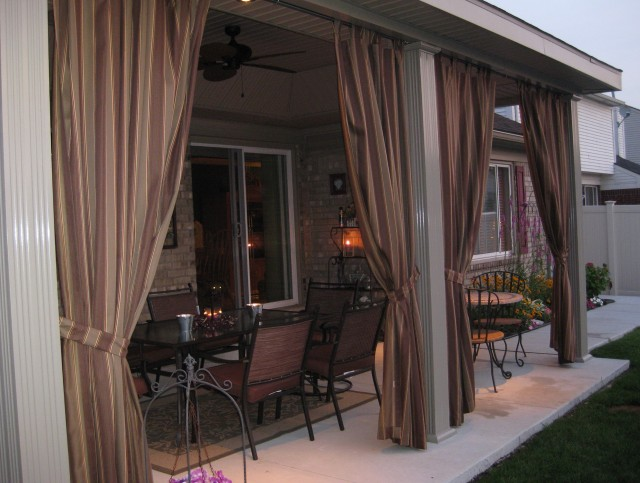 Outdoor Curtain Fabric Canada