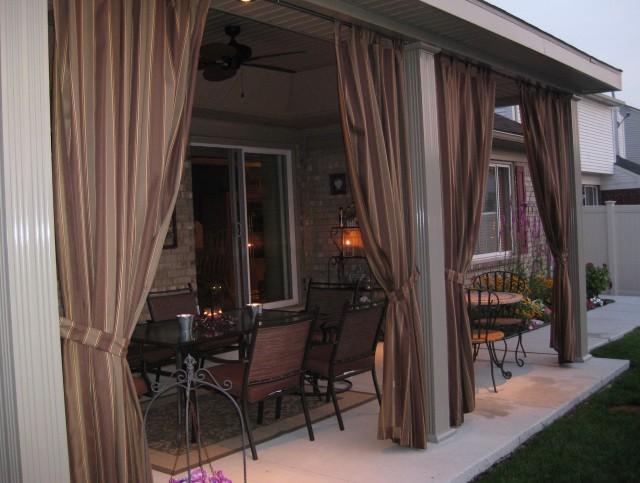 Outdoor Curtain Fabric Canada