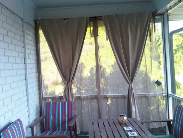 Outdoor Sheer Curtains For Patio