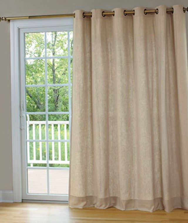 Patio Door Curtain Panels