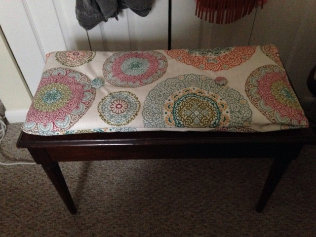Piano Bench Cushion Diy