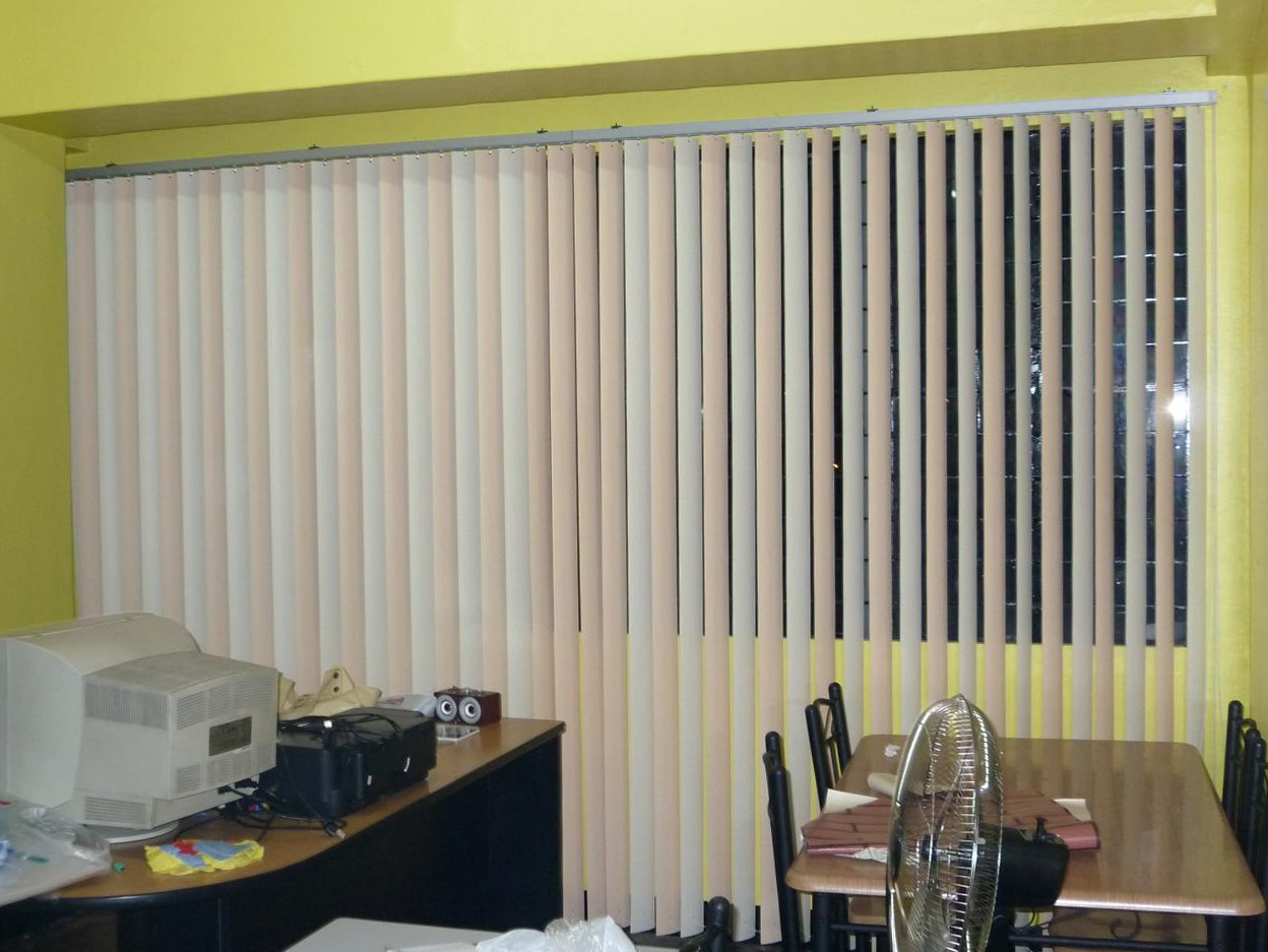 Pictures Of Curtains Over Wooden Blinds