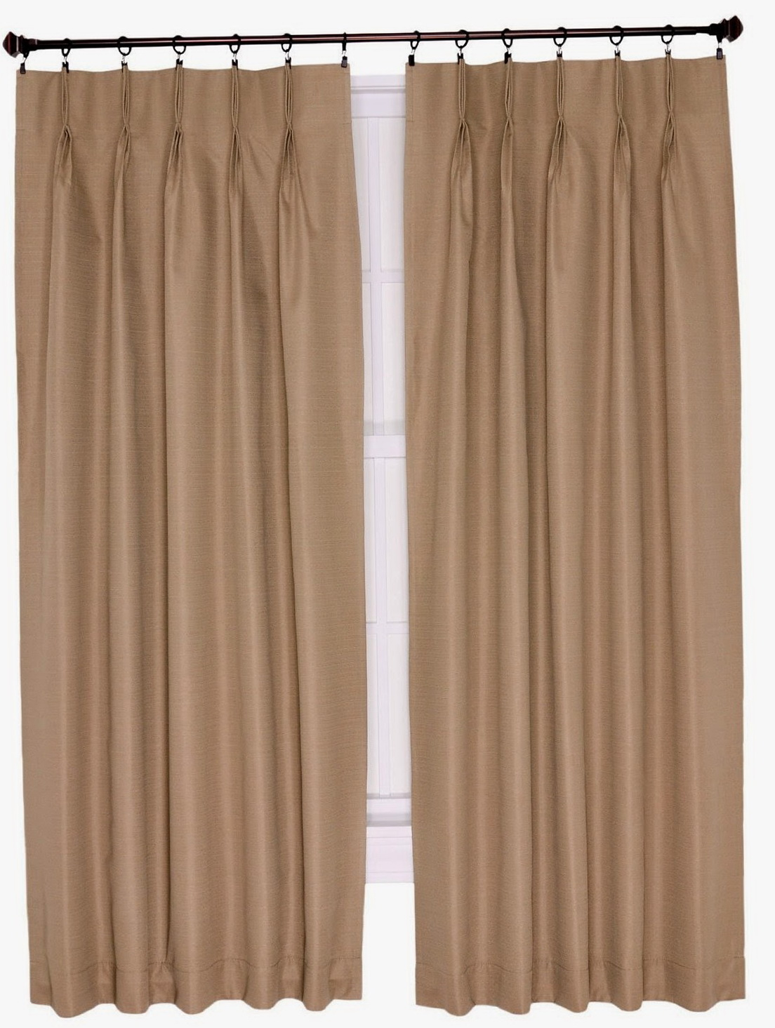 Pinch Pleated Curtains For Traverse Rod