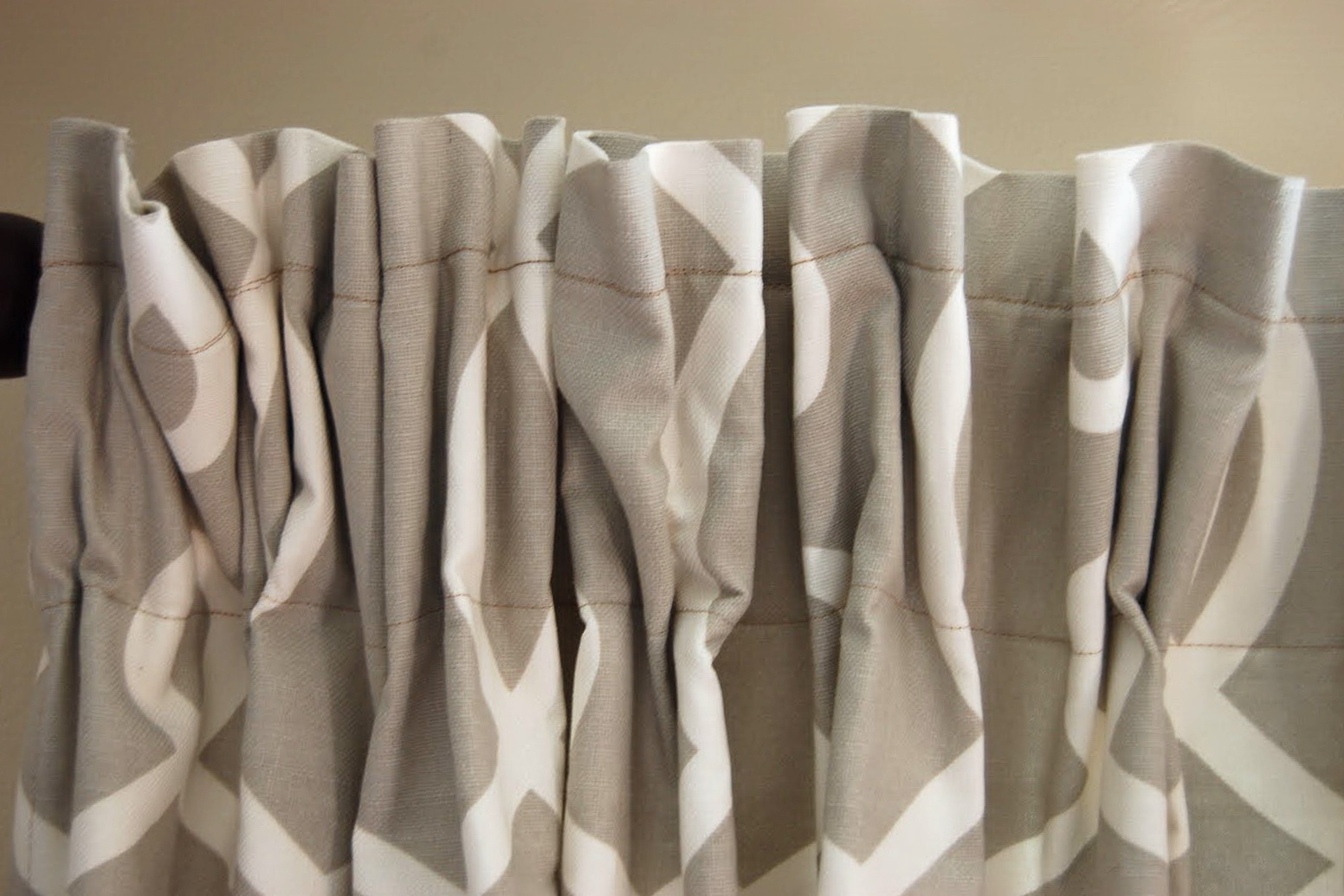 Pinch Pleated Curtains With Hooks