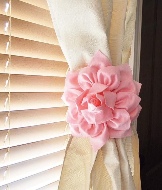 Ribbon Tiebacks For Curtains