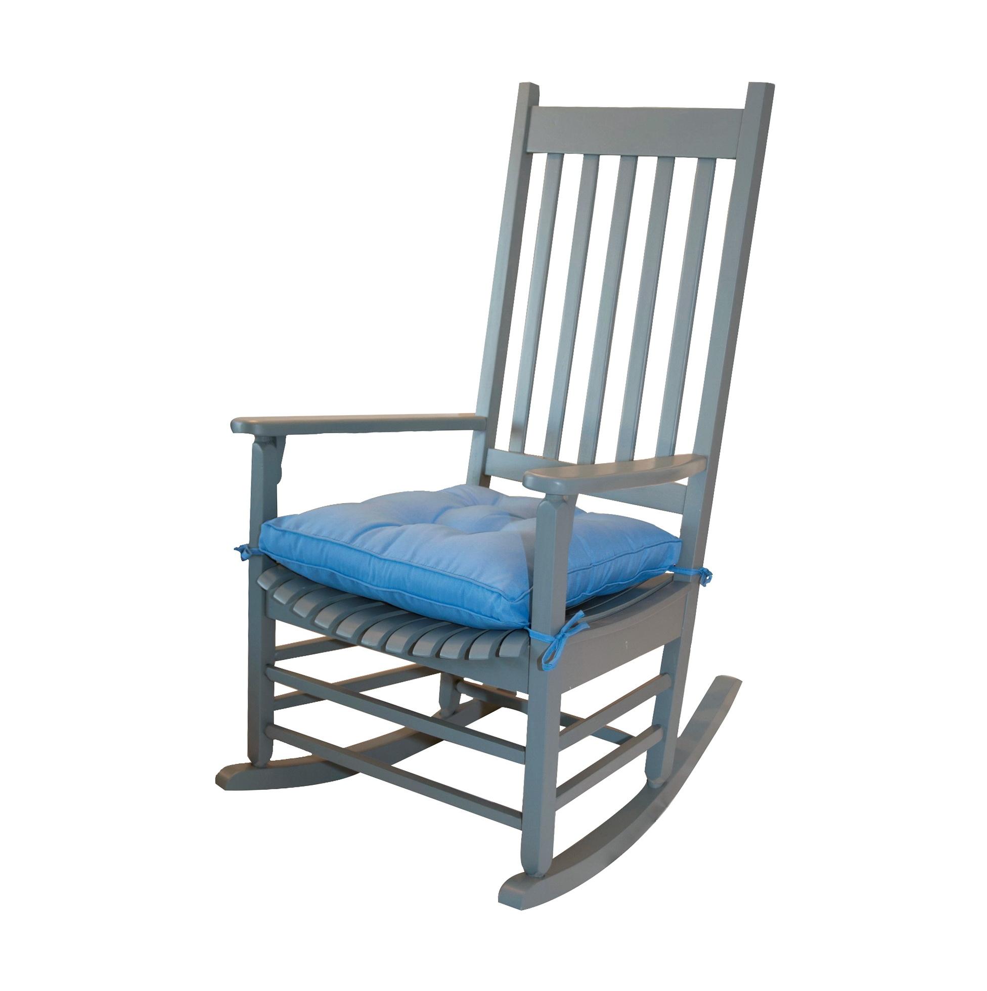Rocking Chair Cushion Set Grey
