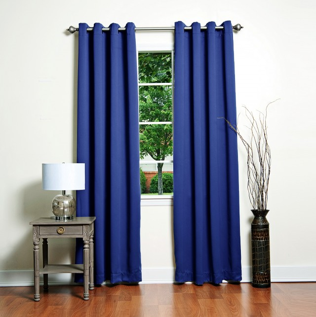 Royal Blue Blackout Curtains