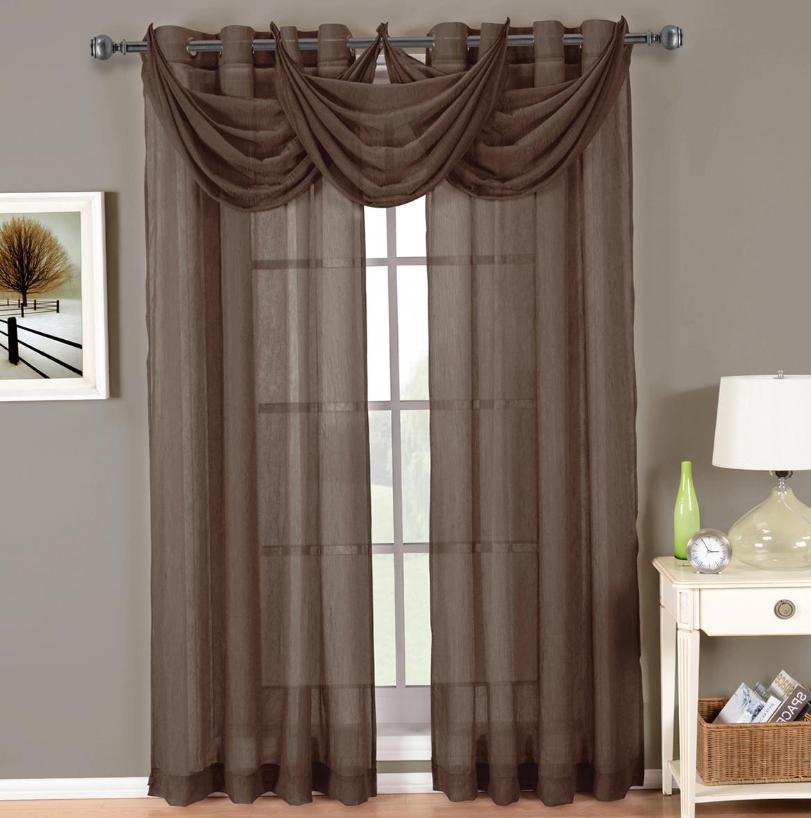 Sheer Grommet Curtains 96