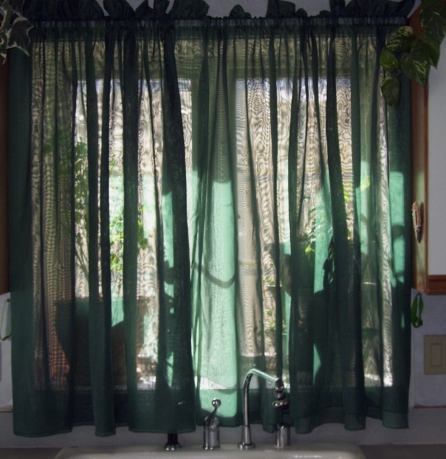 Sheer Kitchen Curtains Valances