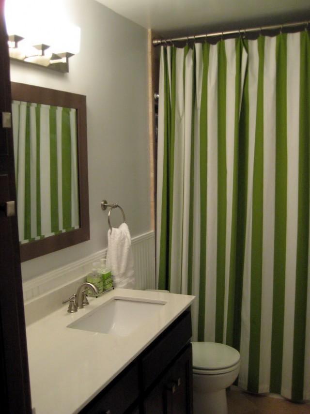 Shower Curtain Length From Floor