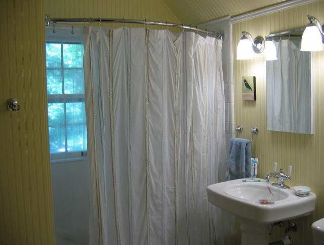 Shower Curtain Rod Height Installation