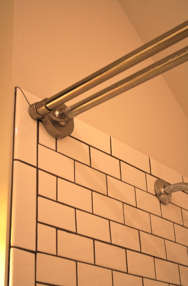 Shower Curtain Tension Rod Keeps Falling